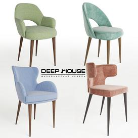 deephouse chair 3d model Download  Buy 3dbrute