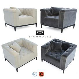 Eichholtz -Cesare chair 3d model Download  Buy 3dbrute
