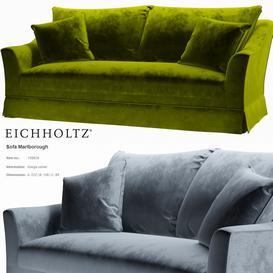 Eichholtz Sofa Marlborough 3d model Download  Buy 3dbrute
