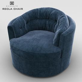 Eicholtz Recla Chair 3d model Download  Buy 3dbrute