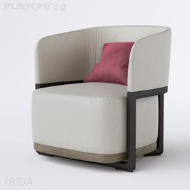 Flexform Frida 3d model Download  Buy 3dbrute