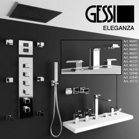 Gessi Eleganza 3d model Download  Buy 3dbrute