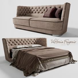 GORI Vittoria Frigerio by Frigerio Poltrone 3d model Download  Buy 3dbrute