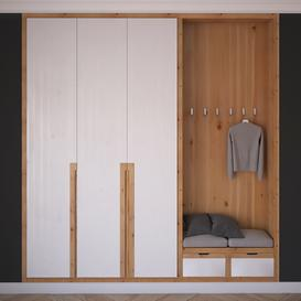 hall Wardrobe 3d model Download  Buy 3dbrute