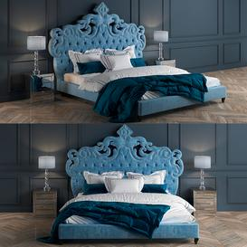HAUTE HOUSE JULIA BED 3d model Download  Buy 3dbrute
