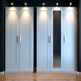 Ikea cabinet BRIMNES 3d model Download  Buy 3dbrute