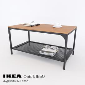Ikea FELLBO- coffee table 3d model Download  Buy 3dbrute