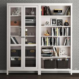IKEA Hemnes storage combination 3d model Download  Buy 3dbrute
