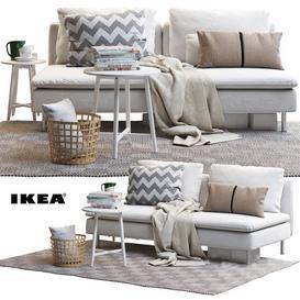 IKEA SODERHAMN 2 3d model Download  Buy 3dbrute