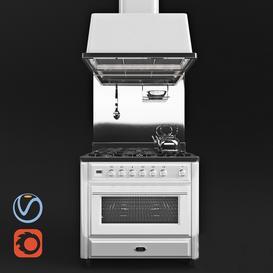 Ilve Majestic MT-90 3d model Download  Buy 3dbrute