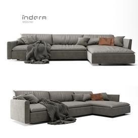 INDERA SOFA WEEK-ND 3d model Download  Buy 3dbrute