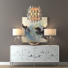 John Richard decorative set 3d model Download  Buy 3dbrute