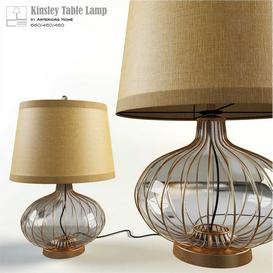 Kinsley Table Lamp 3d model Download  Buy 3dbrute
