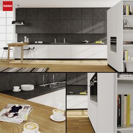 Kitchen Scavolini Scenery 3d model Download  Buy 3dbrute