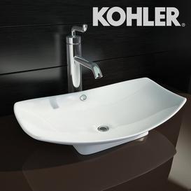 Kohler Leaf+Kohler Purist 3d model Download  Buy 3dbrute