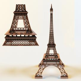 La Tour Eiffel 3d model Download  Buy 3dbrute