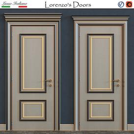 Lorenzo s Doors 3d model Download  Buy 3dbrute