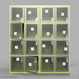 luggage storage v3 3d model Download  Buy 3dbrute