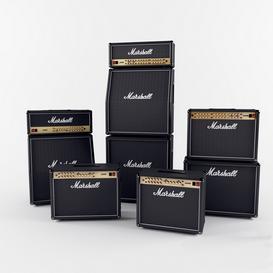 Marshall JVM Series 3d model Download  Buy 3dbrute