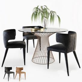 Melrose Chair 3d model Download  Buy 3dbrute
