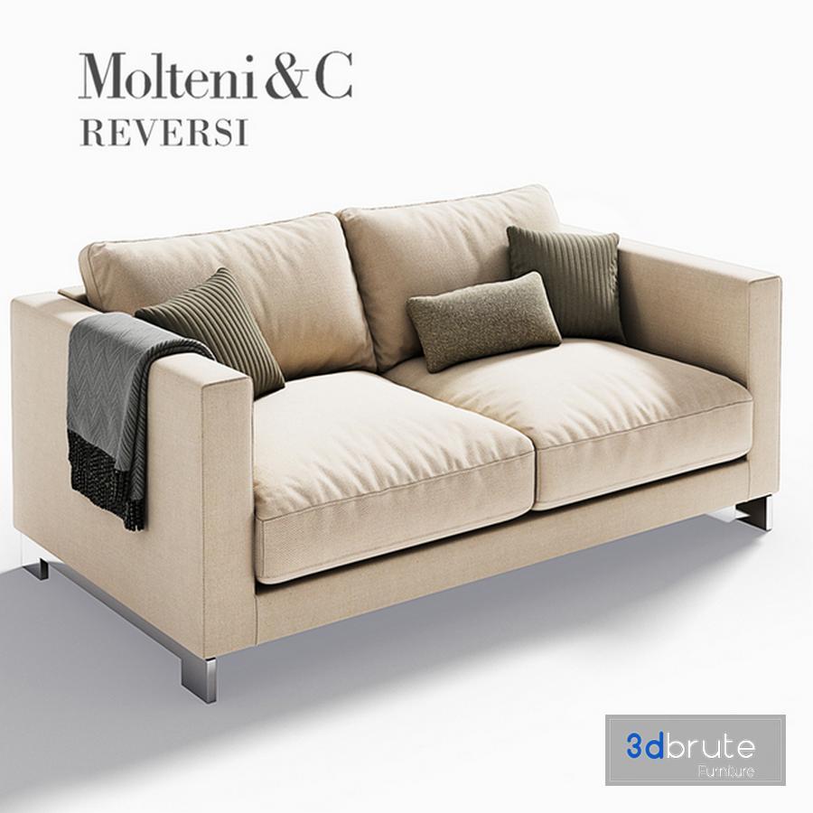 Molteni C Reversi Sofa 1 Model