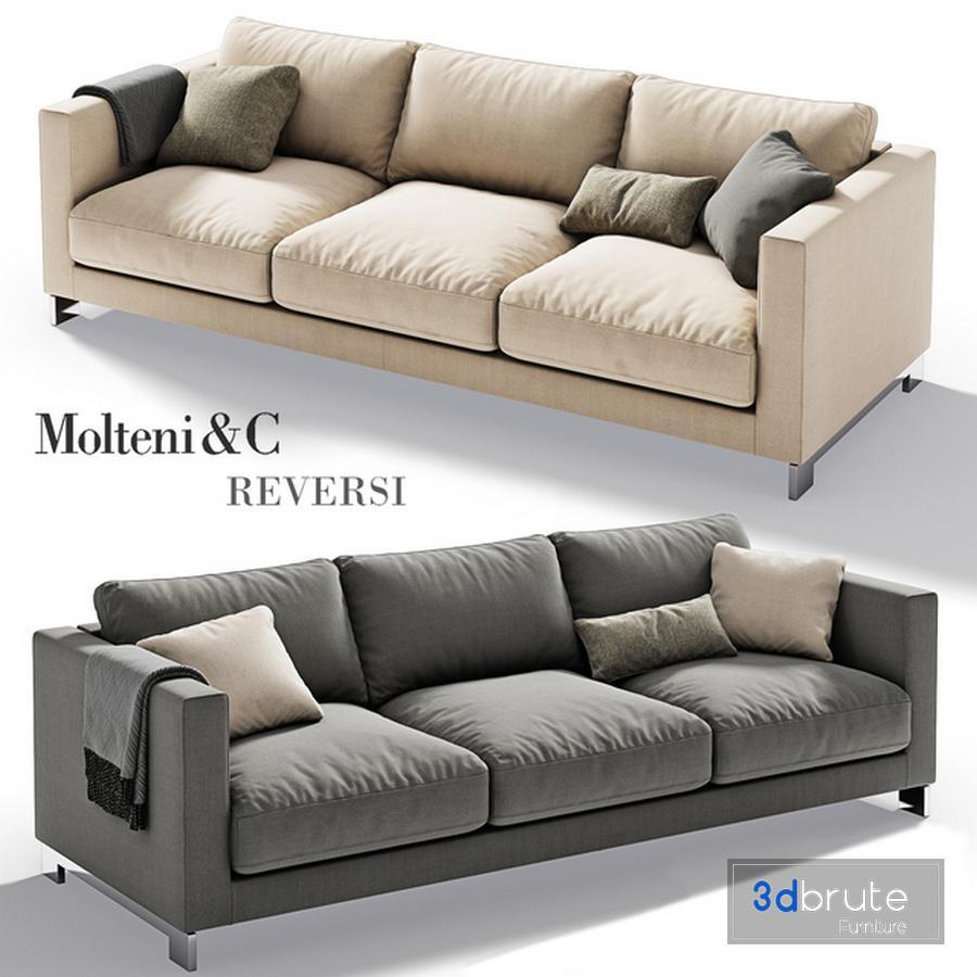 Molteni C Reversi Sofa 2 Model