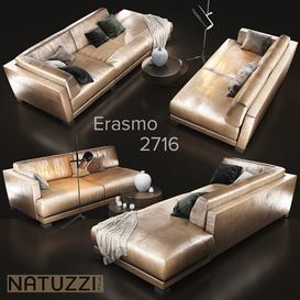 natuzzi Erasmo 2716 3d model Download  Buy 3dbrute