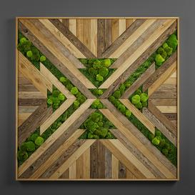 panel wood art 08 3d model Download  Buy 3dbrute