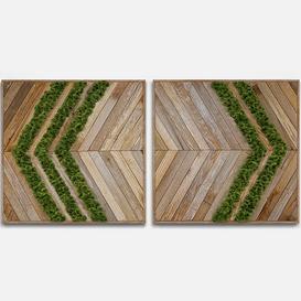 panel wood moss 3d model Download  Buy 3dbrute