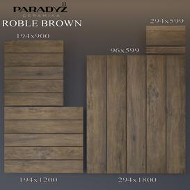 Paradyz Roble Brown 3d model Download  Buy 3dbrute