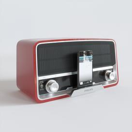 Philips retro radio 3d model Download  Buy 3dbrute