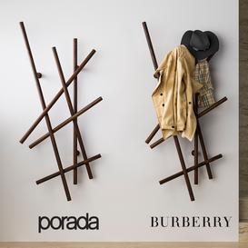 Porada&Burberry 3d model Download  Buy 3dbrute