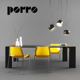 Porro Set 01 3d model Download  Buy 3dbrute