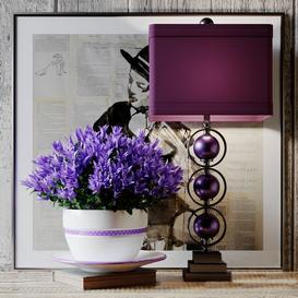 Purple set 3d model Download  Buy 3dbrute