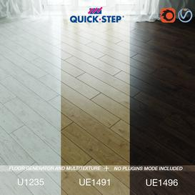 Quick-step Flooring Vol 3 3d model Download  Buy 3dbrute