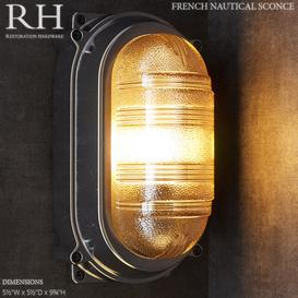 RH French Nautical Sconce 3d model Download  Buy 3dbrute