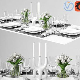 Rosenthal Free Spirit Tableware 3d model Download  Buy 3dbrute