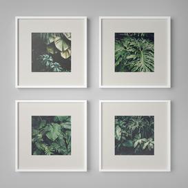 Set of paintings 15 3d model Download  Buy 3dbrute