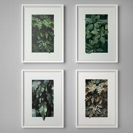 Set of paintings 6 3d model Download  Buy 3dbrute