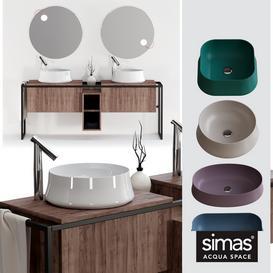 Simas Sharp&Frame Set 3d model Download  Buy 3dbrute