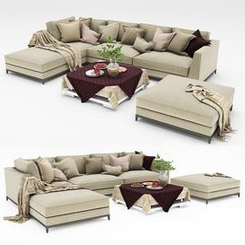 Sofa collection 10 3d model Download  Buy 3dbrute
