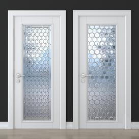Stained glass door 26 3d model Download  Buy 3dbrute
