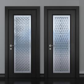 Stained glass door 27 3d model Download  Buy 3dbrute