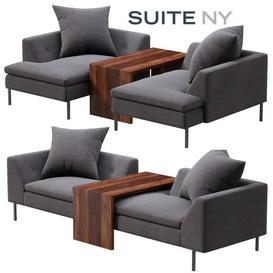 SUITE NY FRATELLI CHAIR 3d model Download  Buy 3dbrute