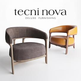 Tecni Nova - 1290 Armchair 3d model Download  Buy 3dbrute