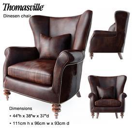 Thomasville Dinesen chair 3d model Download  Buy 3dbrute