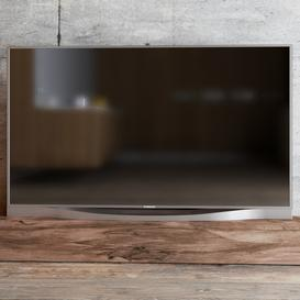 TV SAMSUNG 8500 LED 3d model Download  Buy 3dbrute