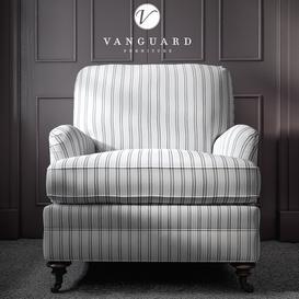 Vanguard Winslow Chair 3d model Download  Buy 3dbrute