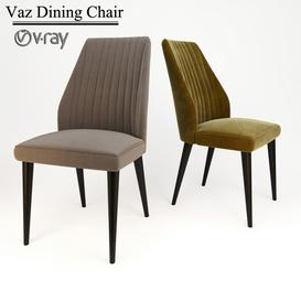 Vaz Dining Chair 3d model Download  Buy 3dbrute