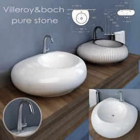 Villeroy&boch pure stone 3d model Download  Buy 3dbrute